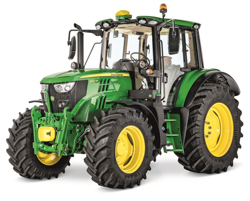 John Deere Traktor zur Miete.